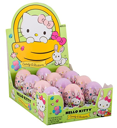 Hello-Kitty-Easter-Eggs-with-Candy-and-Stickers-Pack-of-12