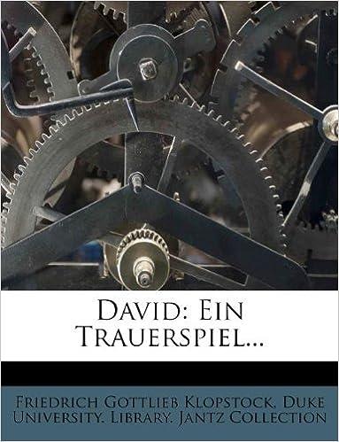 Book David: Ein Trauerspiel...