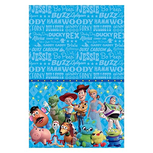 Toy Story Tablecloth (amscan Toy Story 4 Tablecover)