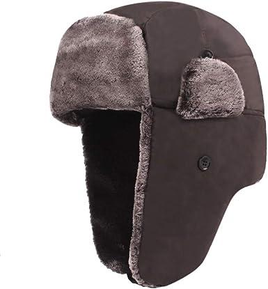 Doingshop - Gorra de invierno para hombre con orejeras de ...