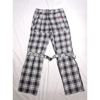 パンツスカート付 タータンチェック ボンテージパンツ MDB-2460