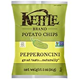 kettle chip pepperoncini - Kettle Brand Potato Chips, Pepperoncini, 2 Ounce (Pack of 24)