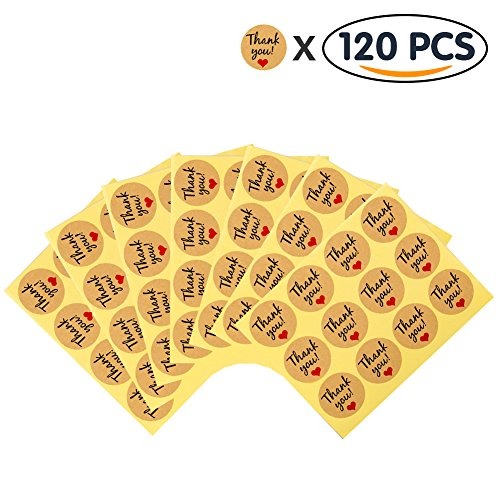 Shintop 120pcs Thank You Stickers product image