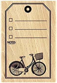 Florilèges Design fg117013 Tag Bicicleta – Sello (Madera, 10 x 7 x ...