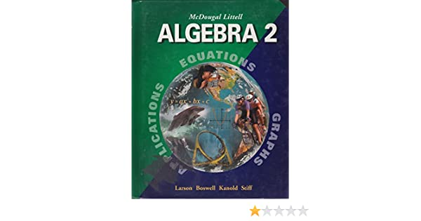 Amazon mcdougal littell algebra 2 teacher edition amazon mcdougal littell algebra 2 teacher edition 9780618394357 books fandeluxe Gallery
