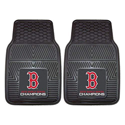 Boston Red Sox 2018 World Series Champions Heavy Duty 2-Piece Vinyl Car Mats 18