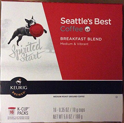 Seattle's Best Coffee Breakfast Blend K-cup 16 Packs (Pack of 2)