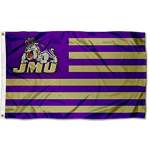 James Madison Dukes Stars and Stripes Nation (Images Madison Madison Single)