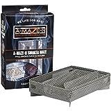A-MAZE-N AMNPS5X8-APP Maze Pellet Smoker with Apple BBQ Pellets, 5 x 8 Inch, 1 Pound of Pellets