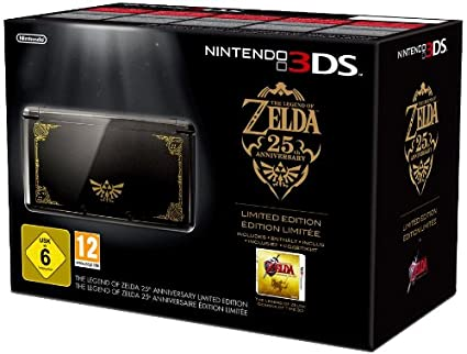 Console Nintendo 3ds Noire The Legend Of Zelda Ocarina Of Time