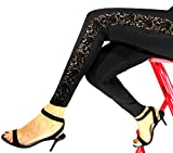 PR412 art. AFRICA - LEGGINGS WITH LACE SIDE BAND