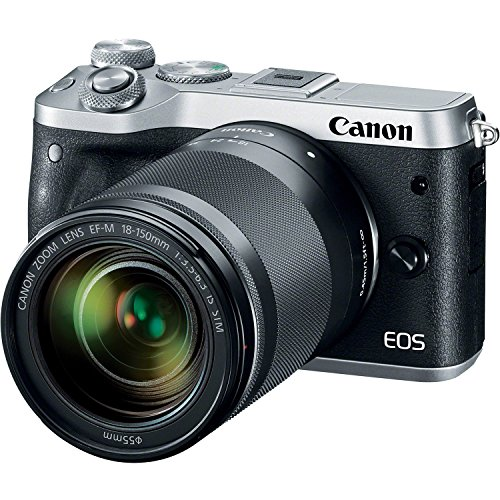 Canon M6 EOS 24.2MP Mirrorless Digital Camera with EF-M 18-1
