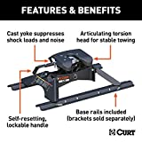CURT 16181 A25 5th Wheel Hitch with Base