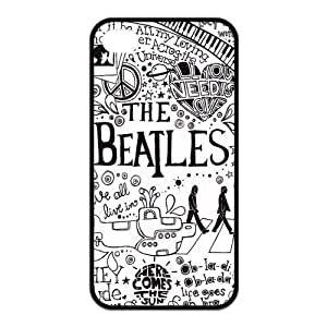 The Beatles iPhone 5s Cases TPU Rubber Hard Soft Compound Protective Cover Case for iPhone 5 5s by supermalls