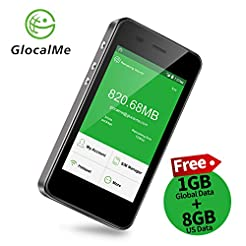GlocalMe G3 4G LTE Mobile Hotspot, World...