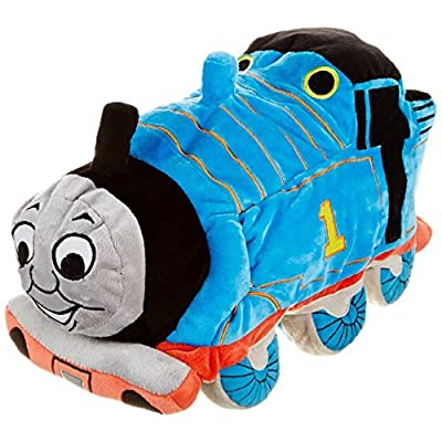 """Mattel Thomas The Tank Engine 22"""" x 44"""" 100% Cotton Hooded Poncho Bath Towel from Jay Franco and Sons, Inc"""