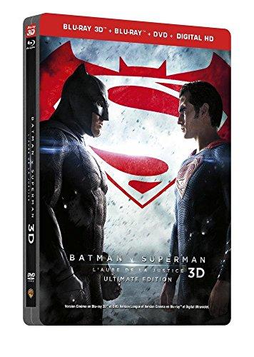 Batman V Superman : 3-D SteelBook Ultimate Limited Edition