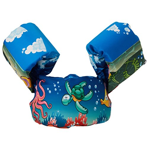 Toddler Life Jacket Baby Swim Float Kids Swim Life Vest Kids Swimming Floats Vest for Kids-Flotation Device (Style 1)