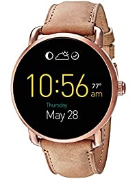 Q Wander Gen 2 Light Brown Leather Touchscreen Smartwatch FTW2102