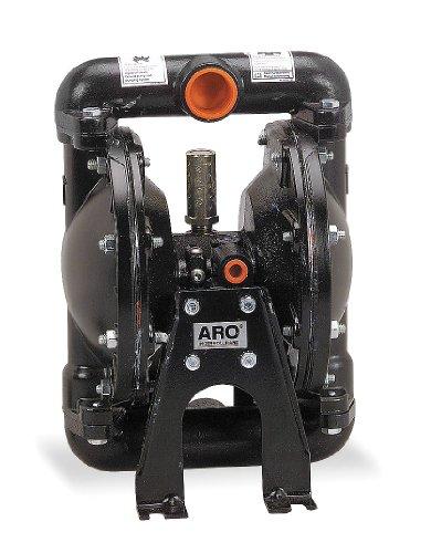 Aro Tool (ARO 666100-362-C  Aluminum Nitrile Single Double Diaphragm Pump, 35 gpm, 120 psi)
