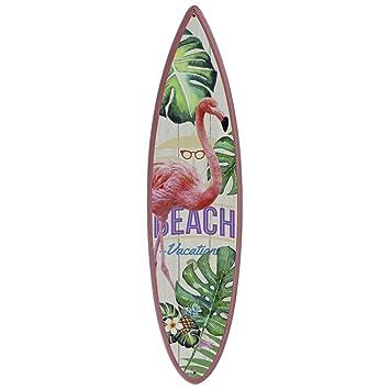 Surfbrett Schild Hawaii Strandbardeko 50 cm