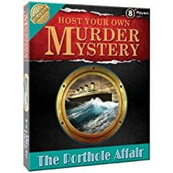 Murder Mystery Game : 'The Porthole affair' A voyage of deceit and double murder on board the RMS Olympic - the sister ship to the infamous Titanic! Superb game for home or parties- Collect all Four!