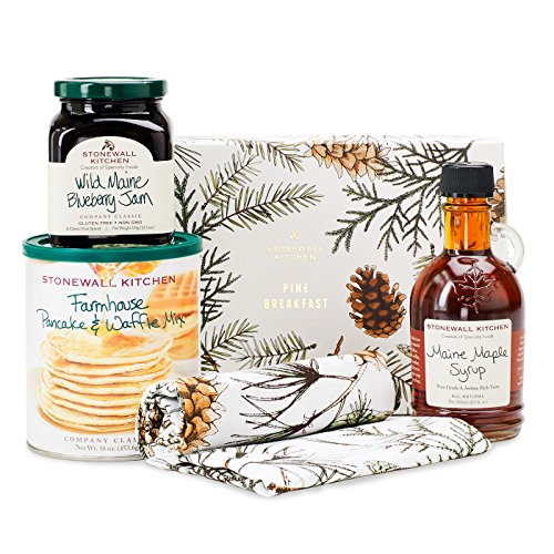 Stonewall Kitchen Pine Breakfast Gift - 4 piece Gift Set ()