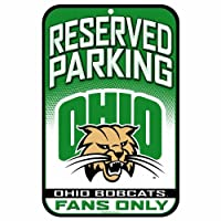 NCAA Ohio Bobcats 11-by-17-Inch Sign