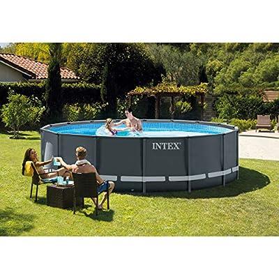 Intex 18ft X 9ft X 52in Ultra XTR Rectangular Pool Set with Sand Filter Pump