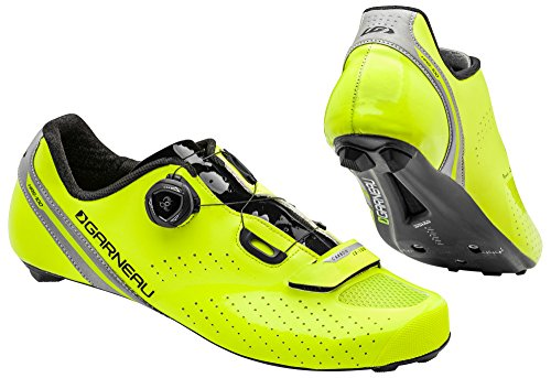 Louis Garneau CARBON LS-100 II CYCLING SHOES YELLOW/BLACK...