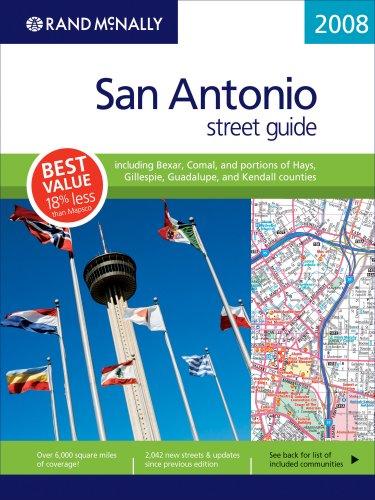 (Rand Mcnally 2008 San Antonio, Texas Street Guide (Rand McNally San Antonio, Texas Street Guide))