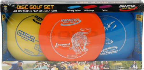 Innova DX Golf Disc: 3-Disc Starter Pack by Innova Disc Golf