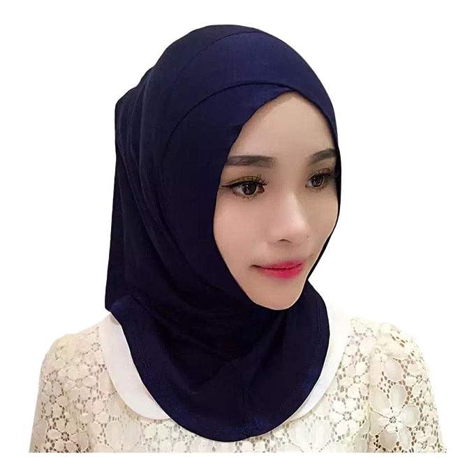 Muslim Kopftuch Hijab Caps Wraps Damen islamischen langen Schal 2018//*