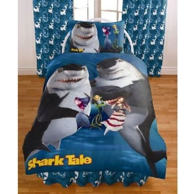 Official Shark Tale Bedding Set Duvet Cover And Pillow Case Single