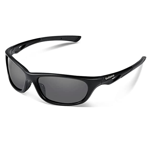 936e5bb4f7c6 Duduma Polarized Sports Sunglasses for Baseball Running Cycling Fishing Golf  Tr90 Durable Frame (646 black matte frame with black lens): Amazon.in:  Clothing ...