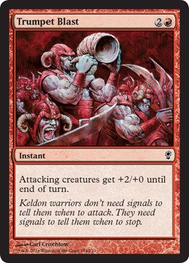Magic: the Gathering - Trumpet Blast - Conspiracy (Kings Three We Trumpet)