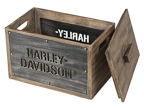 Astonishing Amazon Com Harley Davidson Wooden Storage Box W Lid Uwap Interior Chair Design Uwaporg