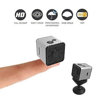C-Xka Cámara espía con cámara Oculta 1080P HD, Impermeable, Mini cámara WiFi