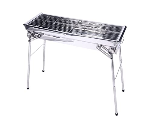 JPVGIA Barbecue Grill Portable Parrilla de la Barbacoa ...