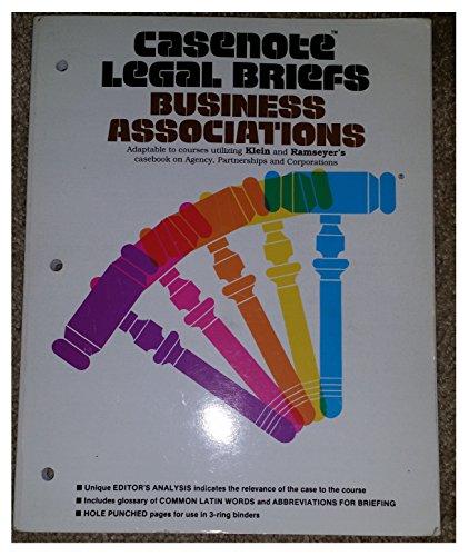 Business Association: Klein Ramsayer & Bainbridge (Casenote Legal Briefs)