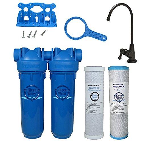 Chlorine Sediment Chloramine Lead Water Filter, KleenWater K