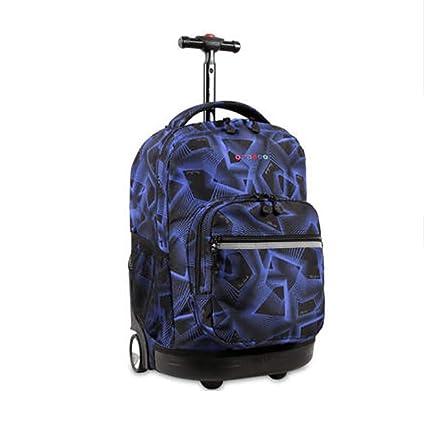 QCC&----Mochila multifunción impermeable con ruedas para equipaje, para niños,