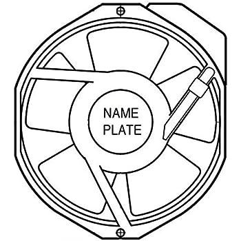 Amazon Com Axial Fan W2e143 Series 230 V Ac 172 Mm 51 Mm 58