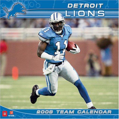 Lions 2008 Wall Calendar - Detroit Lions 2008 Wall Calendar