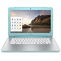 HP Chromebook 14 Inch Laptop (NVIDIA Tegra K1, 2 GB, 16 GB SSD, Ocean Turquoise) (Certified Refurbished)
