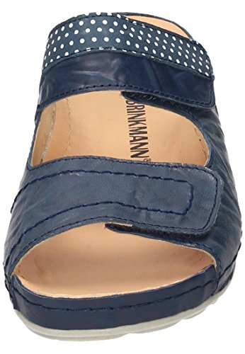 Blau Brinkmann 5 Weiß Dr pantolette Damen 701202 aSTwq