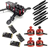 USAQ ZMR250 250mm FPV Racing Drone Kit with 2205 Motors, 25A BLHeli ESC 2-4S