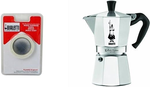 Bialetti – 1161 – Moka Express – Cafetera italiana de aluminio ...