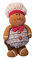 Christmas Standing Gingerbread Boy with Hat and Bowtie - 14""
