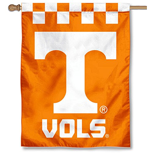 College Flags and Banners Co. Tennessee Vols Checkerboard Double Sided House Flag